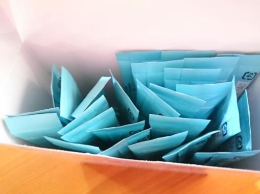箱の中には1日分が1包化されている